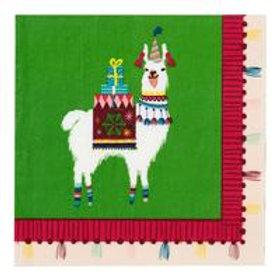 30 Fiestive Llama Paper Napkins
