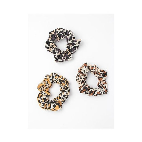 Animal Print Scrunchie in 3 colours