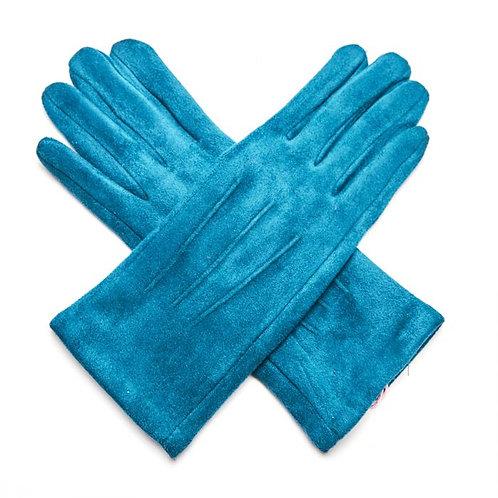 Stunning Teal Gloves