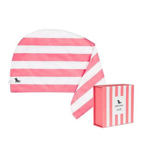 Dock & Bay Hair Wrap - Kuta Pink