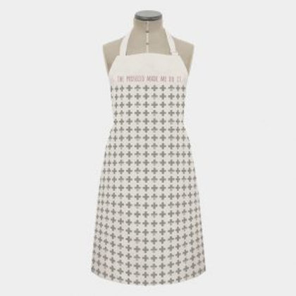 100% Cotton Prosecco Made Me Do It Apron
