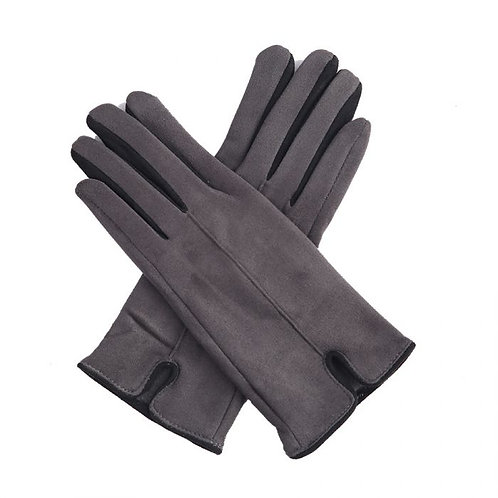 Grey Super Soft Stylish Gloves