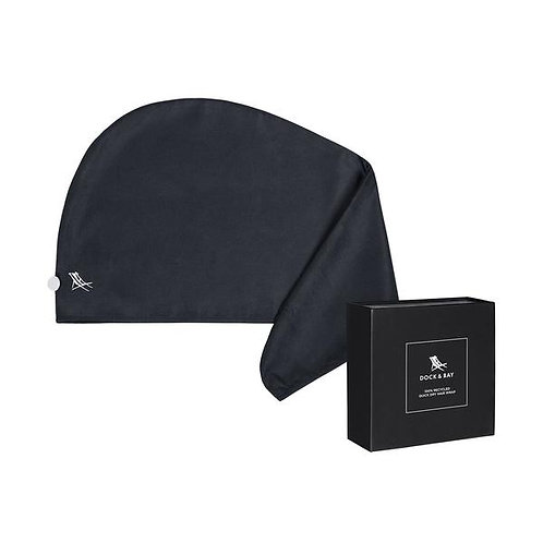 Dock & Bay Hair Wrap - Fuji Black