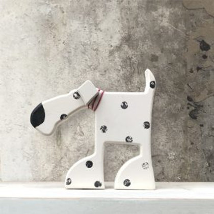 Standing Wooden Oscar The Dog Decoration