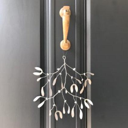 Metal Mistletoe Branch
