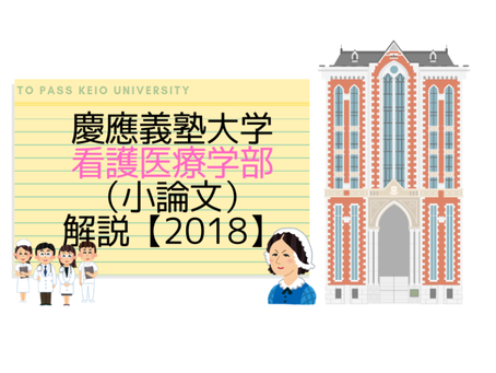 慶應義塾大学看護医療学部(小論文)|2018解説