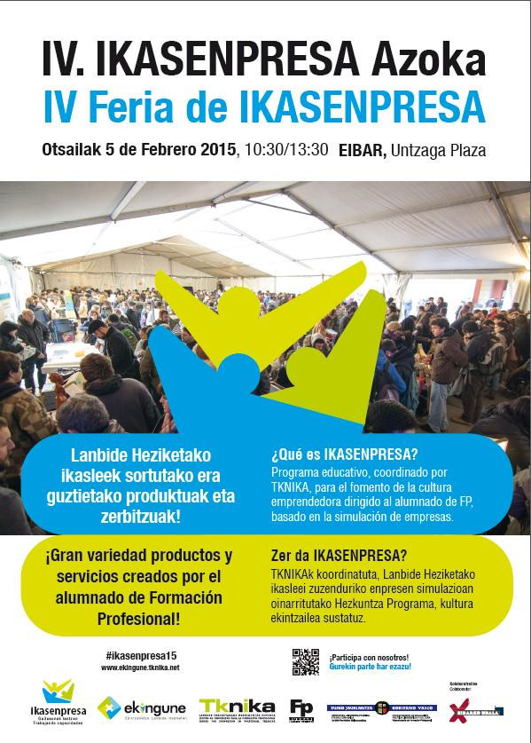 IV FERIA DE IKASENPRESA