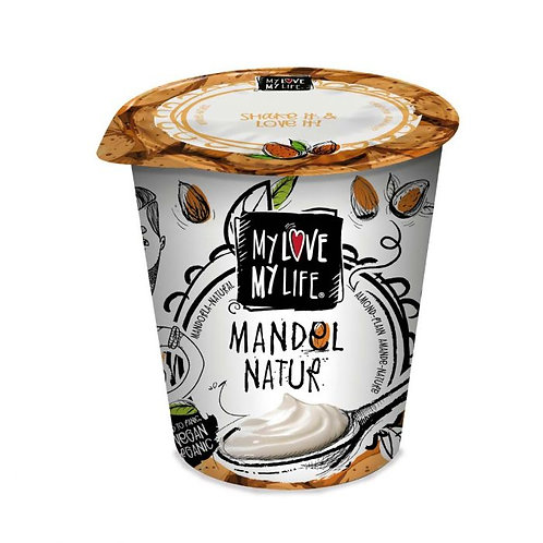 Almond Natural Yogurt 125g My Love My Life