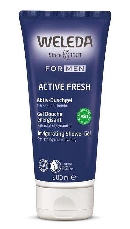 Active Shower Gel For Men 200ml Weleda