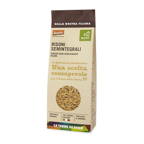 Durum Semi-Wholewheat Risoni 500g