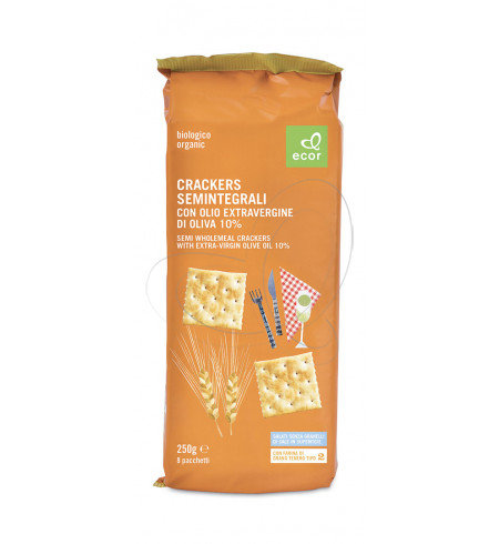 Extra Virgin Olive Oil Crackers 250g
