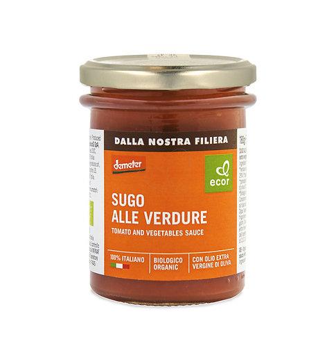 Tomato & Vegetable Sauce 180g Ecor