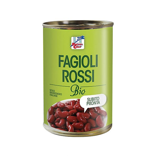 Boiled Red Kidney Beans 400g La Finestra Sul Cielo