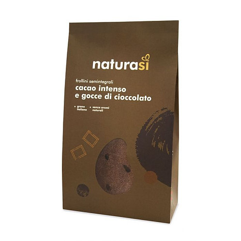 Semi-Wholemeal Wheat Biscuits with Cocoa & Chocolate Chips 350g