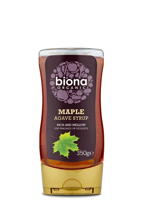 Maple Agave Syrup Biona 350g