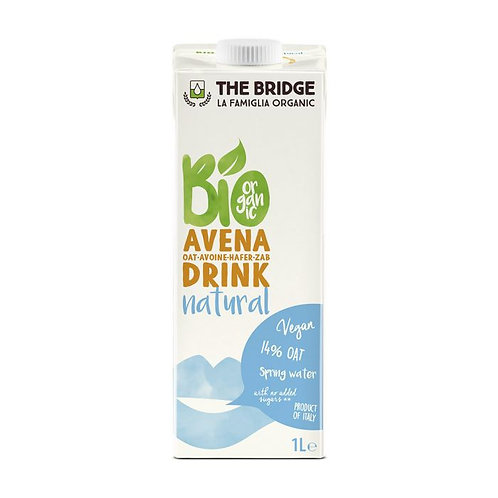 Oat Drink Natural The Bridge 1L