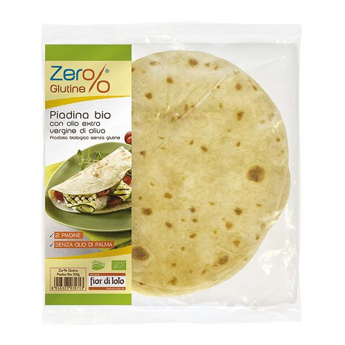 Gluten-Free Wraps Zero%Glutine 200g