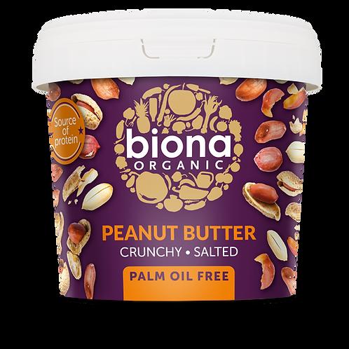 Crunchy & Salted Peanut Butter 1kg