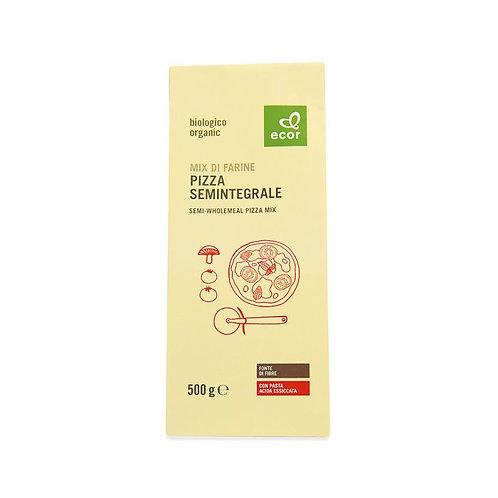 Semi-Wholemeal Pizza Mix 500g