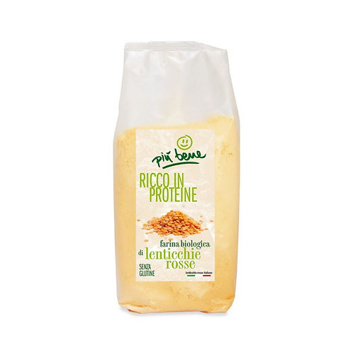 Gluten-Free Hulled Red Lentil Flour 350g
