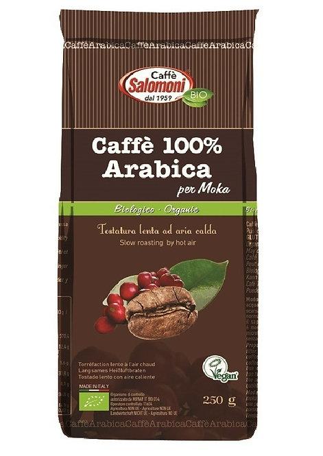 Ground Arabica Coffee for Moka 250g