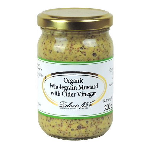 Mustard With Whole Seeds 200g