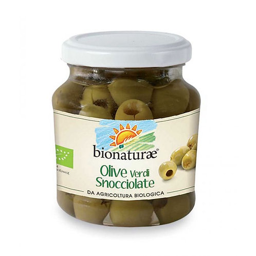 Pitted Green Olives in Brine 300g Bionaturae