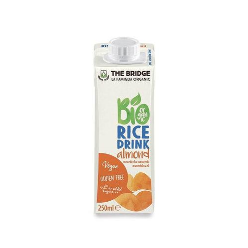 Rice Drink with Almond The Bridge 1L