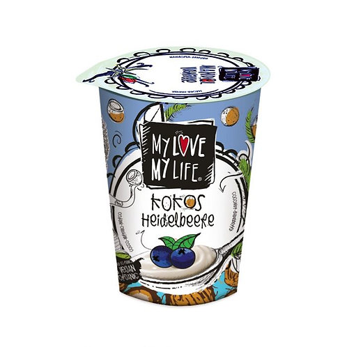My Love My Life Coconut Blueberry Yogurt 180g