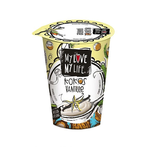 My Love My Life Coconut Vanilla Yogurt 180g