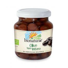 Whole Black Olives in Brine 300g Bionaturae