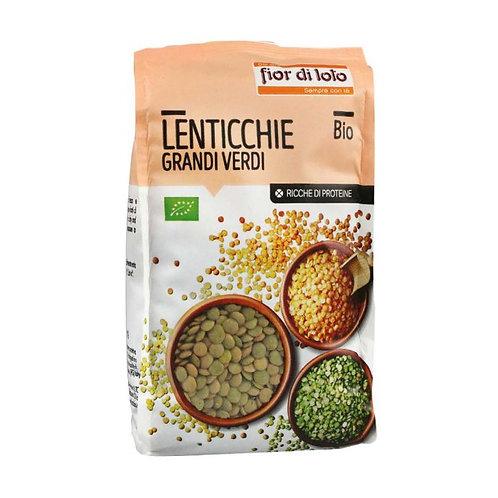 Large Green Lentils 400g Fior di Loto
