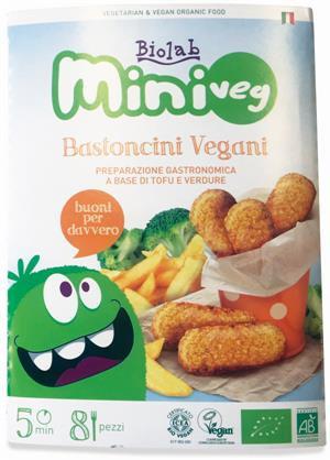 Vegan Sticks- Miniveg 160g