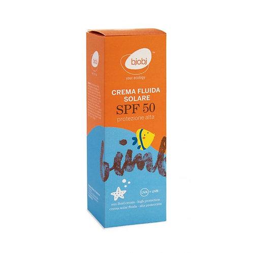 Baby Sun Fluid Cream - High Protection - SPF50 100ml Bjobj