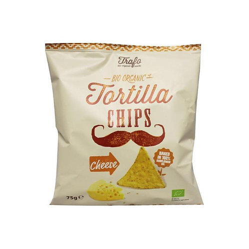 Tortilla Chips - Cheese 75g Tra'fo