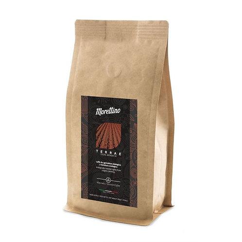 "100% Arabica Ground ""Terrae"" Coffee 200g Morettino"