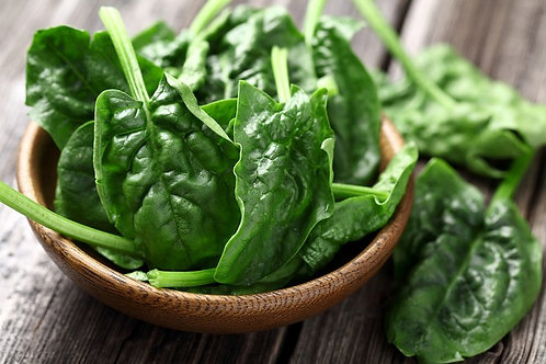 Prepacked Baby Spinach Demeter 100g