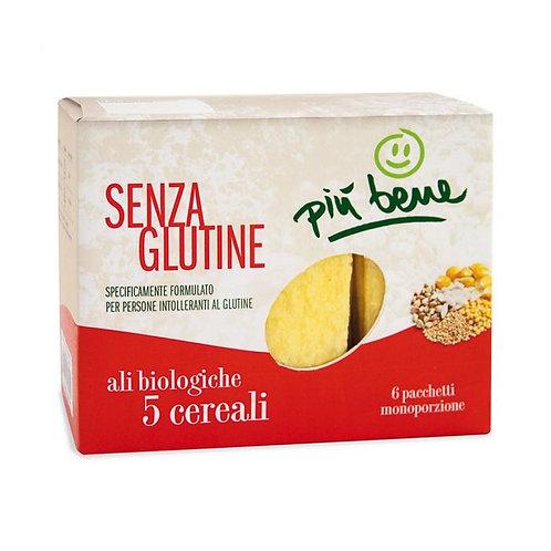 Gluten-Free Extruded 5 Cereals Crispbread 120g