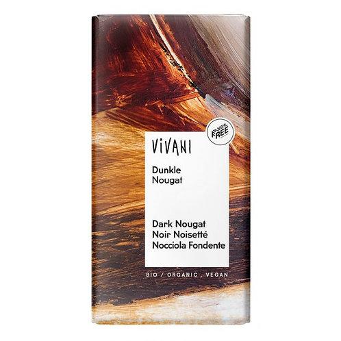 36% Dark Chocolate with Nougat 100g