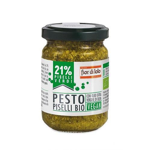 Vegan Pesto With Peas 130g Fior Di Loto