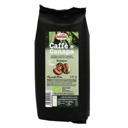 Coffee & Hemp Mix for Moka 250g Caffe Salomoni
