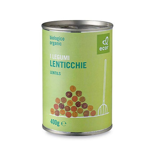 Canned Lentils 400g Ecor