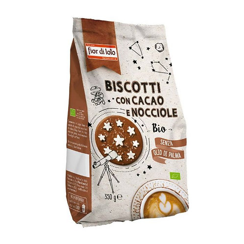 Wheat Shortbread Cocoa Biscuits With Hazelnuts 350g