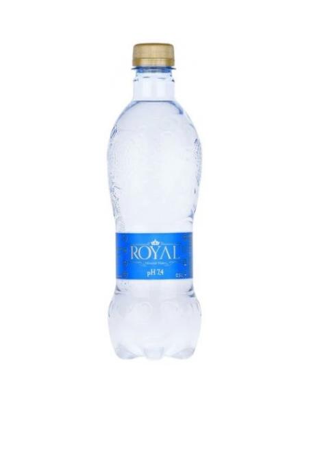Mineral water pH 7.4 Royal Water 0.5L
