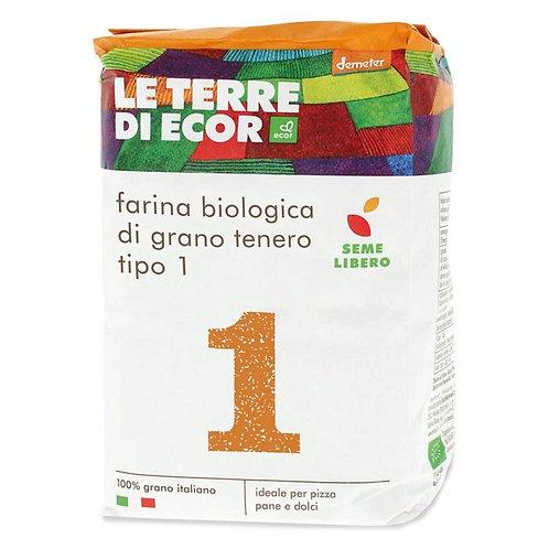 """Common Wheat Flour """"Type 1"""" 1kg Ecor"""