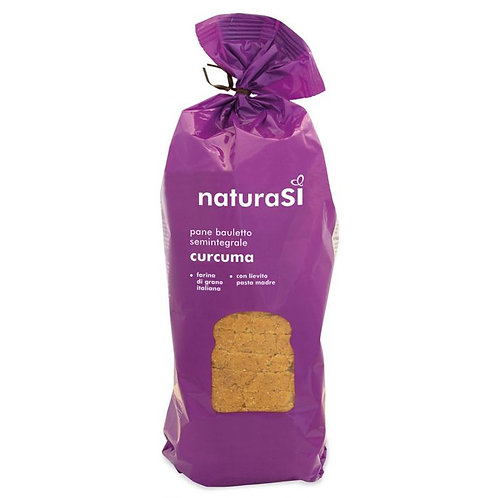 Sliced Wheat Loaf with Turmeric 400g NaturaSi