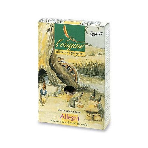 Durum Wheat Semolina Pasta with Vegetables 250g