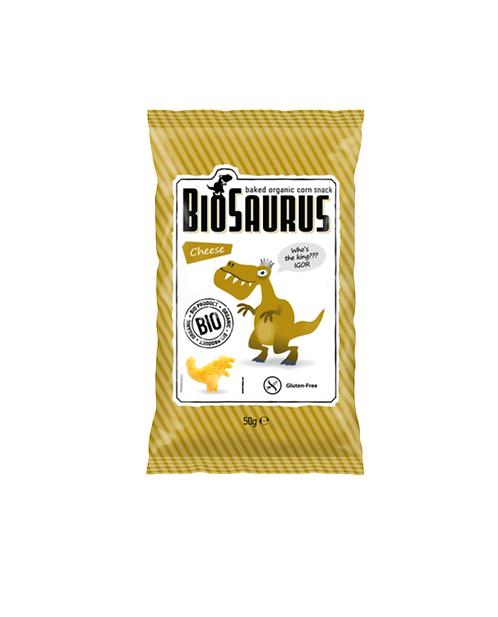 Biosaurus Corn Cheese Snack 50g