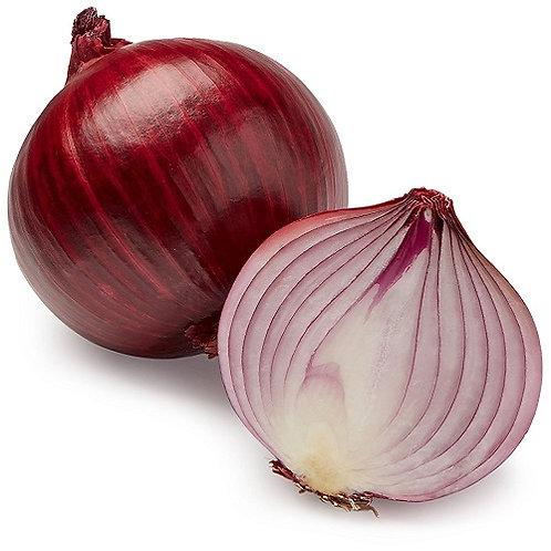 Onions Red Demeter per kg