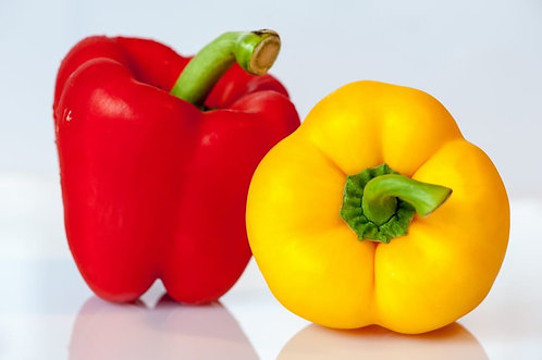Peppers Bell Sweet - Red/ Yellow per kg